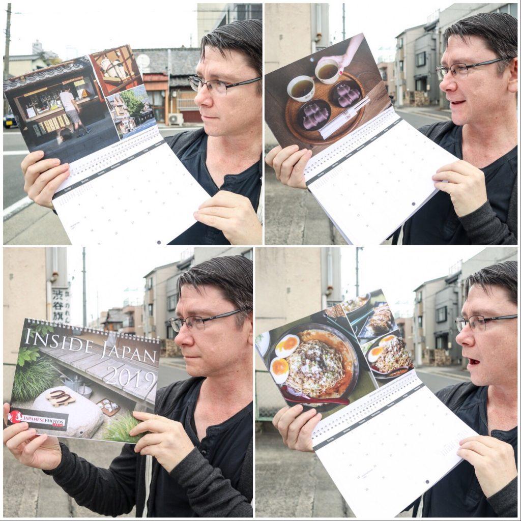 The 2019 Inside Japan calendar